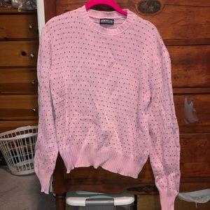 Vintage heart Sweater Medium